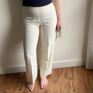 Emporio Armani off white slacks 42